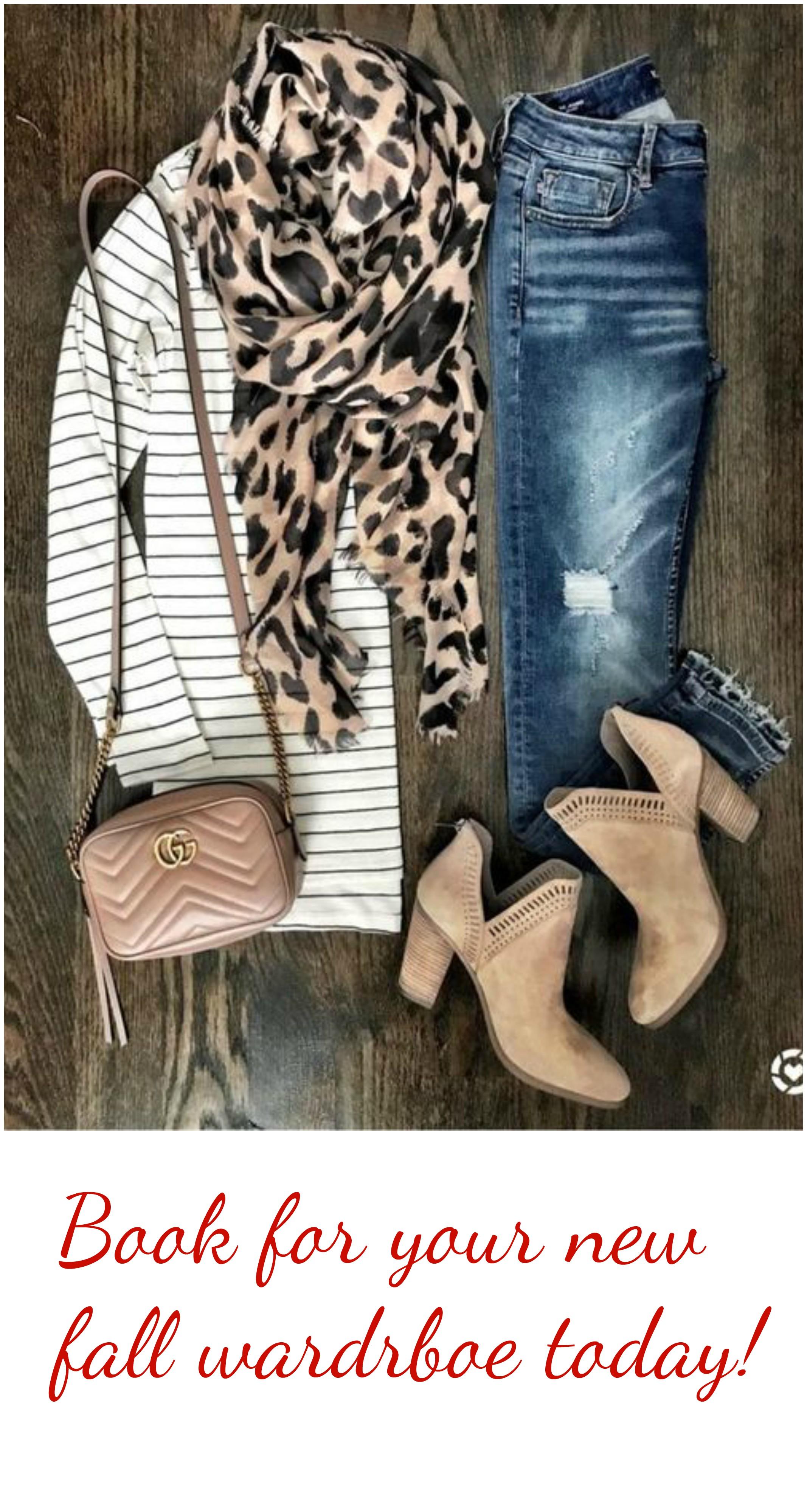 book your fall wardrobe