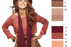 red head color enalysis
